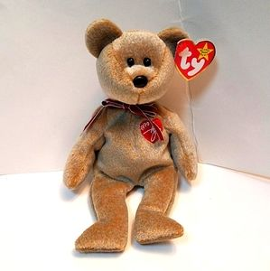 TY beanie baby 1999 signature bear 🐻